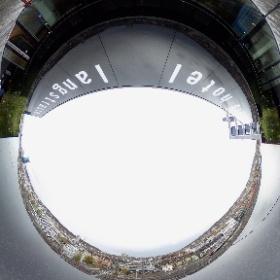 Blick von der Dachterrasse des 25hours Hotel Zurich Langstrasse #25hourshotels #visitzurich #theta360