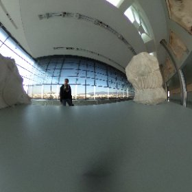 Akropolis museum.  #theta360