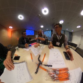 Gamification of a solution for HIV medication compliance - team solution! #gfheu  #theta360