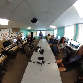 arts and letters day at Limestone College! #theta360