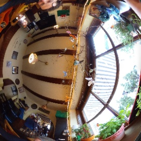 Drinking beer in the bar. Fussen, Germany #theta360