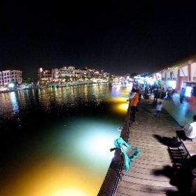 マラッカ川の夜景(ミクシータ撮影ver) #miku360