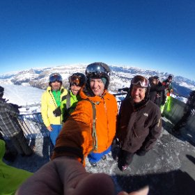 3,400m - on top of the world at the Marmolada. #theta360