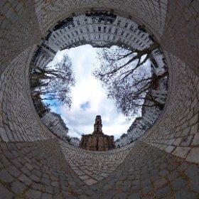 Die Ludwigskirche von Westen #theta360 #theta360de