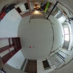 Future liaison entre le nouveau bâtiment et celui rénové