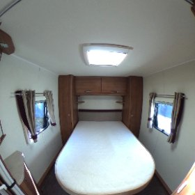 Elddis Affintiy 550 - 2013 - fixed island bed and mid bathroom 360