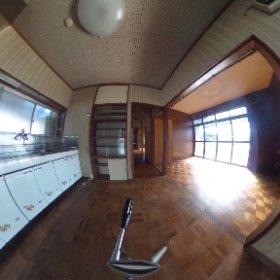 甲府市和田町1階北西キッチン