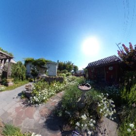 「下砥上ガーデンプレイス」株式会社薄井工務店 https://u-41.co.jp/garden/ ガーデン/お庭づくりの参考になる場所です。イベント利用も可能。 #theta360
