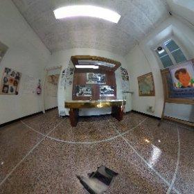 #CasaResistenza #Valpolcevera #Genova #WW2 Sala donne e ragazzi #theta360it