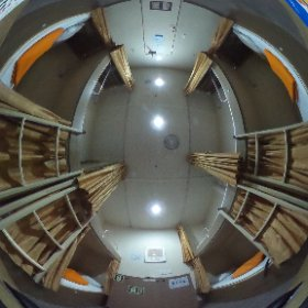 ウラジオストク-境港 フェリー 客室 #theta360