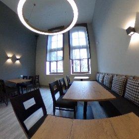 05.04.2019 - Restaurant - Restarbeiten Westzimmer #theta360de