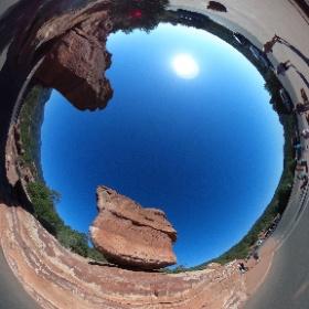 Balanced Rock Denver, CO, USA #theta360