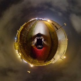 Shannon Airport rear view | 14th March 2018 | #firefly3d #craicingalway #galway360 #shannonairport #theta360