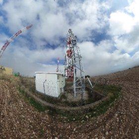 Antenas cerca de Guadalajara #theta360