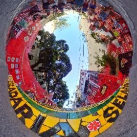 Rio de Janeiro - Escadaria Selaron #theta360 #theta360de