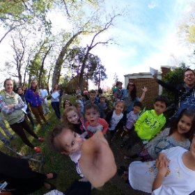 Epic Rainbow Hunt - countdown to madness #EpicVye turns five  - thank you to all who cam out to celebrate our little princess! #theta360