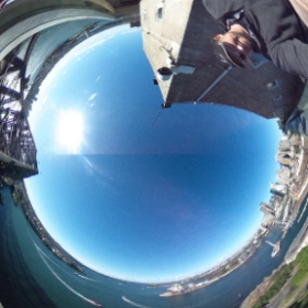 Back from New Zealand and Australia. Here is a 360 view of Sydney Harbour. (hint: use your mouse and spin the photo around to see the full pic). #theta360