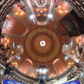 Ohio Statehouse peps for the inauguration of Governor Mike DeWine #theta360