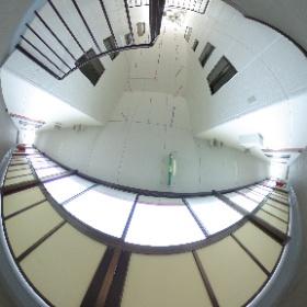 パークハイム 2階共用通路