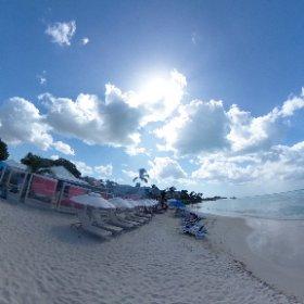 タクシー運転手さん一押しのビーチ「アンティグアビレッジ」(アンティグア・バーブーダ) #theta360