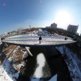 청계천 #snow3d #theta360