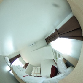 Jira Pool Villa Room http://th.jirapoolvilla.com/ #theta360