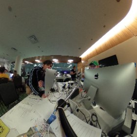 CMA Fest Post Ninjas 2017 in the Round #theta360