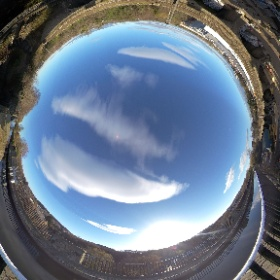 360º view at Slateford Aqueduct taken with insta 360 but rendered by Ricoh Theta #theta360
