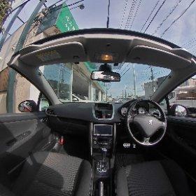 #プジョー207CC#オープンカー専門店バランス#peugeot207cc#opencar.jp#28u1#4人乗りオープンカー