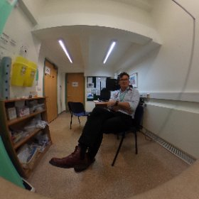 Consulting room #VR #360 selfie #theta360