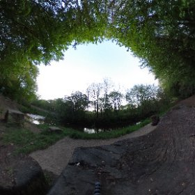 grabbed a 360° photo while out for a walk #theta360 #theta360uk