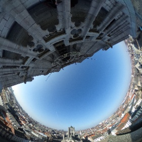 #sundaymorning #360view #gent @visitgent #ghent from above  #theta360