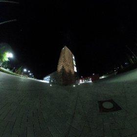 Außenanlagen bei Nacht