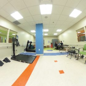 One of our #rehabilitation gyms where patients work hard everyday. #theta360