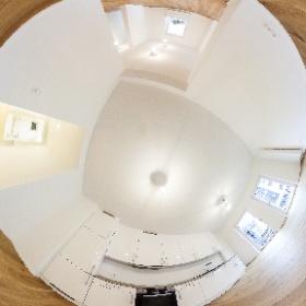 Rundumbild 360° Im Kaisemer 9 Gartenwohnung Küche #theta360  #theta360