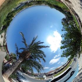 Cyprus view ☀️33 graden 😎 #theta360