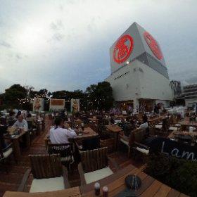 ファーマーズ・ビアガーデン(横浜タカシマヤ) #theta360