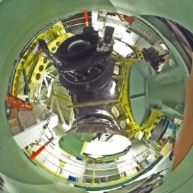 トップユニット回転選択装置 / Top Unit Selector (Date: 2014/2/5. Photo by Dr. Hideaki Fujiwara, Public Information Officer/Scientist.)