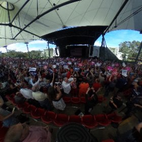 360 view of @realDonaldTrump's rally in St Augustine, FL:
