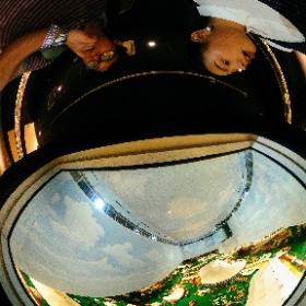 Diorama overhead view  #theta360
