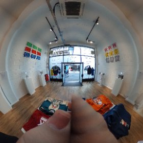 Insert Coin pop up Pokemon store 1 #theta360 #theta360uk