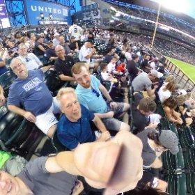 NCS guys at the ballpark #sox #newcanaansociety  #theta360