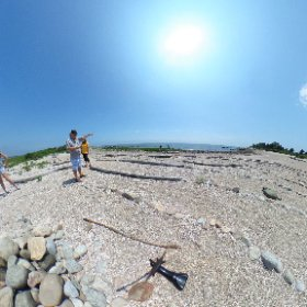 GLOBE field site preview view at Hammonasset with Sharon, Kim and Ginny #theta360