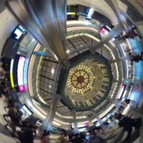 JR Tokyo station #theta360