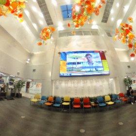 Main front lobby at Mary Free Bed. #rehabilitation #theta360