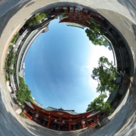 生田神社(兵庫)  photo : 360度カメラ研究会(http://camera-360do.com/) by ほーりー
