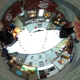 Buskers' stage time, on pedestrianised Quay Street in Galway city centre #Galway2019 #SummerInGalway #TheCraicInGalway #firefly3d #thisisgalway #Galway2020 #theta360 #theta360uk https://theta360.com/m/bze3Z5ITloiAHT0SlRzX7Mska #theta360 #theta360uk
