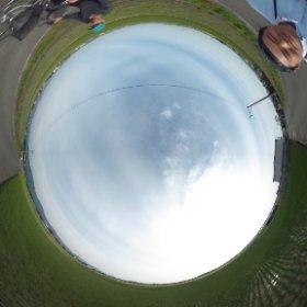 八代い草産地の風景―い草農家・岡さんの田圃周辺(平成27年4月11日撮影)