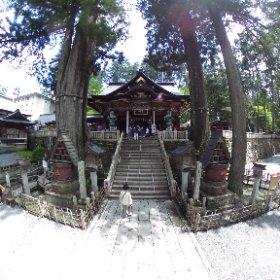 三峰神社参拝シータ。 #theta360