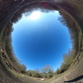 Out for a walk. #theta360